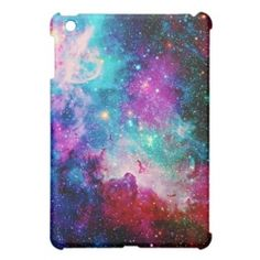 Galaxy star nebula case for iPad mini.