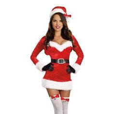Santa Baby Women's Costume by Dreamgirl - #santa #costume #women