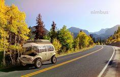 Nimbus e-Car - The New Hippiemobile from Eduardo Galvani
