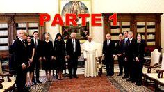 TRUMP VISITA AL ANTICRISTO BERGOGLIO- PARTE 1- (MCFI)