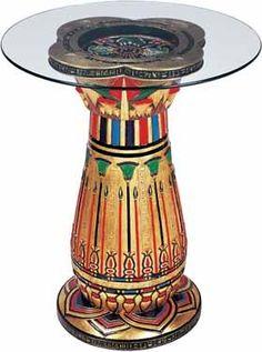 Egyptian Column Table