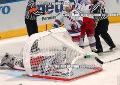 Funny Hockey 19137 332655126456 332646031456 4543329 1231849 n Funny NHL pictures Rangers Hockey, Blackhawks Hockey, Hockey Goalie, Hockey Mom, Hockey Teams, Soccer, Hockey Stuff, Caps Hockey, Chicago Blackhawks