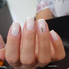 Dicas para fazer unhas francesinhas perfeitas Perfect Nails, Mani Pedi, Nail Art, Manicures, Beauty, Amanda, Minnie Mouse, Natural, Light Nails