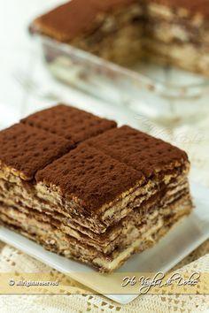 Mattonella+di+biscotti+e+crema