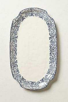 I covet & adore the Attingham collection... Attingham Serving Platter #anthropologie #Remodelista  #PinToWin