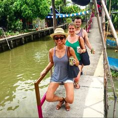 Our client Elysse C. takes her Bar skills to a floating market in Bangkok!  Where are you going to Bar this summer!? Submit your photo to social.tbmvan@gmail.com or tag us on social media :) #barvanwheredoyoubar #barmethod #bangkok