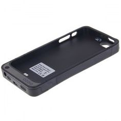 $23.99 3200mAh External USB Rechargeable Battery Power Pack Back Case for iPhone 5 - Black