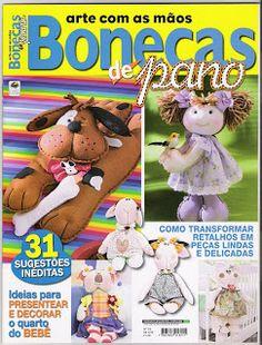 Cantinho da Titi (Moldes e riscos para artesanato): ***Revista Bonecas de Pano…