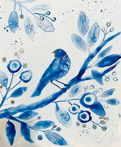 August Colors, Blue Home Decor, Submissive, Artworks, Art Ideas, Diy Crafts, Watercolor, Club, Popular