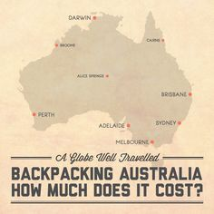 Backpacking Australia – How much does it cost? Find out at A Globe Well Travelled