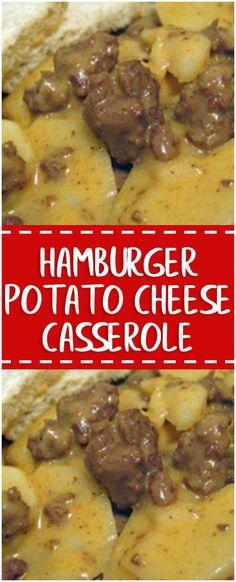 Hamburger Potato Cheese Casserole  #hamburger #potato #cheese #casserole #homecooking #cooking #cookingtips