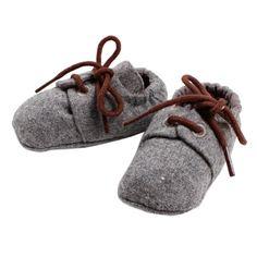 Bebe Archie Soft Lace Up Shoe Storm Tweed