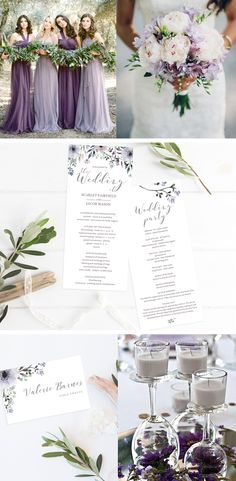 The Steel Garden collection is a beautiful soft purple wedding stationery suite, perfect for a purple or floral wedding. The watercolor flowers give your wedding a romantic and dreamy touch. Customizing the templates is an easy and fun DIY project that anyone can do. Simply download, edit, print and trim. Be prepared to receive a lot of compliments! Subscribe today at www.papersizzle.com and get 15% off your first order.