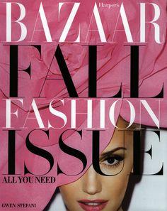 Harper's Bazaar Cover September 2012