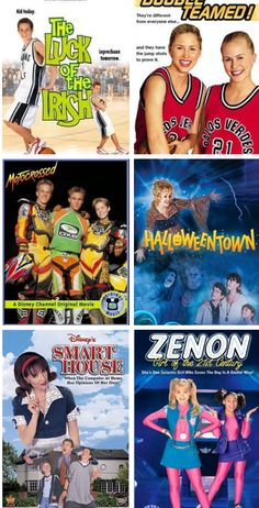Disney Channel original movies. I loved all of them, but especially The Luke of the Irish, Motocrossed, Halloweentown, and Zenon. I remember when my mom told me the grandmother in Halloweentown was Kathy Seldon in Singin in the Rain. MIND BLOWN.