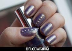 Il Filo di Arianna make up: Ever polish Nail art accent gold