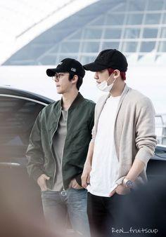 Chanhun - Chanyeol and Sehun