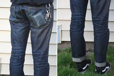 Fade of the Day - Gap 1969 Slim Fit Japanese Selvedge (1 Year, 1 Soak)