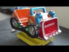 Kids Rides swing game machine –funny Bulldozers