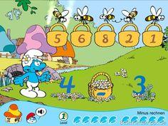 Die Schlümpfe App - Zählen Rechnen lernen Kinderspiele (8)