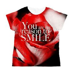 reason to smile Women's All Over Print T-Shirt
