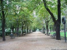 Villa Borghese Gardens.  Rome, Italy A beautiful and peaceful escape from the hustle and bustle of Rome.