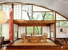 Japanese style house interior – how to create a balanced Zen ambience Japanese Interior Design, Home Interior Design, Interior Architecture, Interior And Exterior, Studio Interior, Japanese Design, Deco Design, Design Case, Design Japonais
