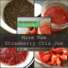 Make Raw Strawberry Chia Jam i did not add the water