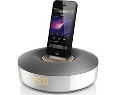 Philips DS1155, el mejor dock para recargar el iPhone 5 mientras duermes