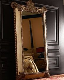 Antique Tiled Floor Mirror | west elm | Home | Pinterest | Floor ...
