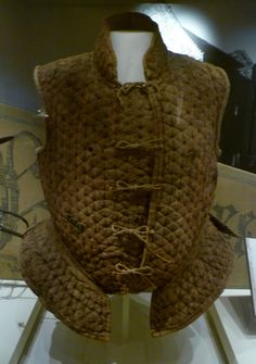 Light armour such as Brigandines or Jacks of Plaite ~  Worn by Scottish 'Border Reivers'  raiders along the Anglo–Scottish border from the late 13th century to the beginning of the 17th century.