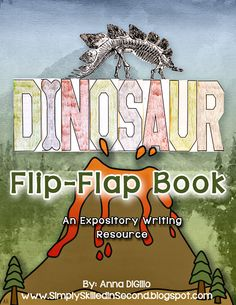 Let's DIG into Dinosaur Facts with this Fun and Interactive Flip-Flap Book. Your students will have a blast demonstrating their new found knowledge about dinosaurs in this funky flip-flap book!!$