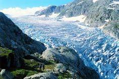 Folgefonna glacier, Folgefonna National Park, Hardangerfjord, Norway. Guided glacier hikes, summerskiing, DNT cabins for overnigt stays + more