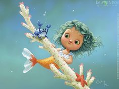 Borboleta Azul: Ilustrações de Kei Acedera