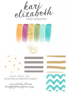 I like the simplicity of this header, as well as the color palette. LOVE the sparkly gold!