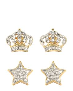 PAVE STAR EARRING SET - Juicy Couture