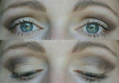 neutral eye makeup via @beautybymissl