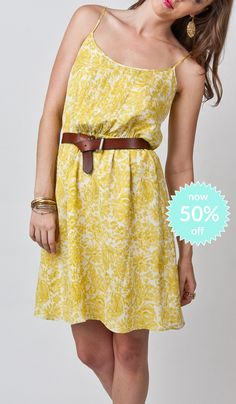 Anne Dress-Peonies Now 50%off!