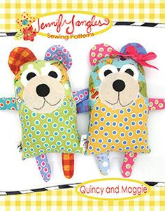 Sew up a couple of cute bears in no time. This is a great beginner project…