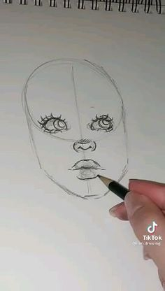 Art Drawings Beautiful, Art Drawings Sketches Simple, Pencil Art Drawings, How To Draw Sketches, How To Sketch Eyes, How To Draw Eyes, How To Draw People, Cute Drawings, How To Draw Anime