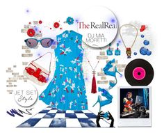 """""""Jet Set Style With DJ Mia Moretti & The RealReal: Contest Entry"""" by jennross76 on Polyvore featuring Fendi, Chanel, Jimmy Choo, Ranjana Khan, Dita and Charlotte Olympia"""