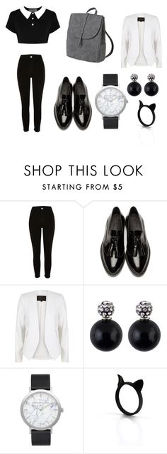 """""""Untitled #55"""" by onebriones on Polyvore featuring River Island, Burberry and Elwood"""