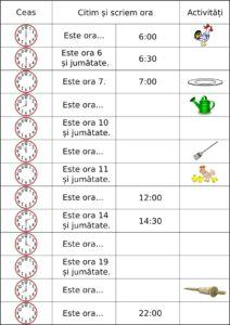 Măsurarea timpului: ora, ziua, săptămâna. Fișe de lucru și exemple de activități Coloring Pages, Parenting, Classroom, Entertaining, Education, Blog, Kids, Maths, Animals