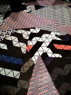 Amazing geometric floor patterns by eileen