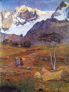Giovanni Segantini ~ Divisionismo italiano / Neo-Impressionismo   Tutt'Art @