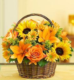A basket full of sunshine...