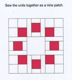 toefeather: Circle of Squares Block Information (circle of friends quilt block)