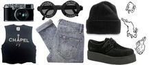 """""""grunge"""" by paula-margarite ❤ liked on Polyvore"""