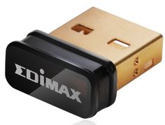Edimax Wi-Fi USB Adapter, Nano Size Lets You Plug it and Forget it, Ideal for Raspberry Pi / Supports Windows, Mac OS, Linux (Black/Gold) - Computer and Accessories Lists Products Mac Os, Windows Xp, Manette Xbox One, Radio Bluetooth, Wireless Lan, Wifi, Adaptador Usb, Usb Stick, Computer Network