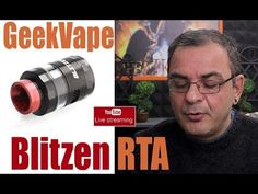 GeekVape Blitzen RTA - LIVE Greek Review GeekVape Blitzen RTA - LIVE Greek Review Περισσοτερες πληροφοριες θα βρειτε εδω http://ift.tt/2smzy7q Capacity: 2 ( pre-installed ) / 5ml  Diameter: 2.4cm  Thread: 510  Build deck is built into the base for convenient access  Compatible with 510 / 810 drip tip  18mm postless build deck allows easy coil building and supports both single and dual coil build…